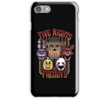 Five Nights At Freddy's Pizzeria Multi-Character iPhone Case/Skin