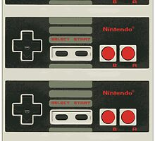 4 Controllers 4 Players - NES by Gustavinlavin