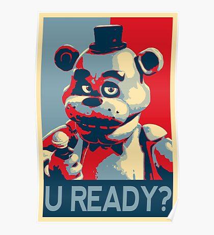 U Ready? Poster