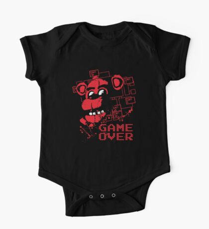 Five Nights At Freddy's Pizzeria Game Over One Piece - Short Sleeve