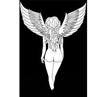 Virgo (Black) Photographic Print