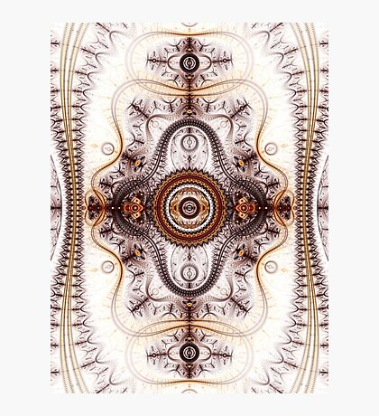 Time machine - Abstract Fractal Artwork Photographic Print