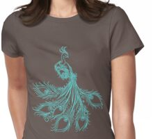 Bird's point of view  Womens Fitted T-Shirt