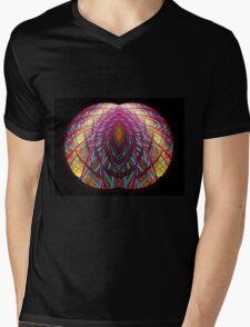 Intimate - Abstract Fractal Artwork Mens V-Neck T-Shirt