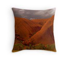 Uluru IV Throw Pillow