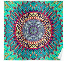 Creative Concentric Abstract Poster