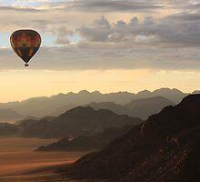 hot air balloon by ruitje