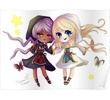 Children of Lunares - Yuelia and Noelia Poster