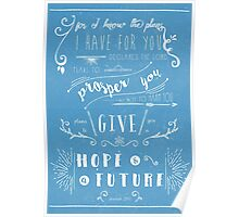 Hope & a Future Poster