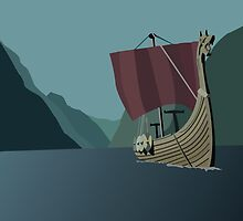 Vikings Minimalist by RobinStevens