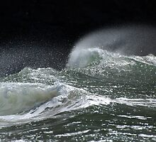 Wave Action - Three ~  by Barbara Burkhardt