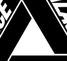 Palace Black Triangle Sticker