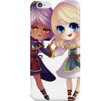 Children of Lunares - Yuelia and Noelia iPhone Case/Skin
