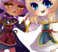 Children of Lunares - Yuelia and Noelia Sticker