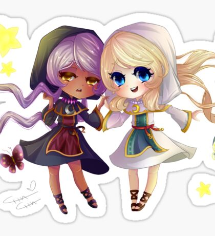 Children of Lunares - Yuelia and Noelia Sticker