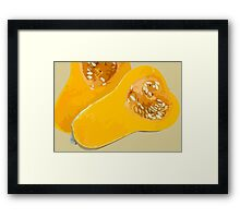Butternut Framed Print