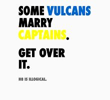 Star Trek - Some Vulcans Marry Captains Unisex T-Shirt