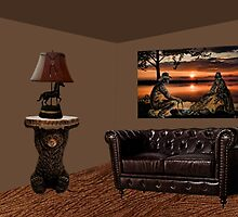 SUNSET COUNTRY DESIGNED ROOM...FEATURING ONE OF MY PICTURES ON RB ..HANGING ON WALL by ✿✿ Bonita ✿✿ ђєℓℓσ