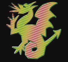 Stylized Dragon by Almdrs
