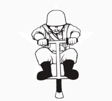 US POGO Soldier by thedumbwaiter