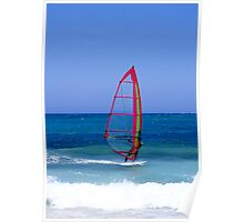Lanzarote Windsurfing Poster