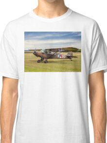 Piper L-21A Super Cub R-213 PH-RED Classic T-Shirt