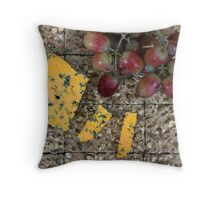 Cheese and biscuits Throw Pillow