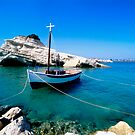 Moored boat by iOpeners