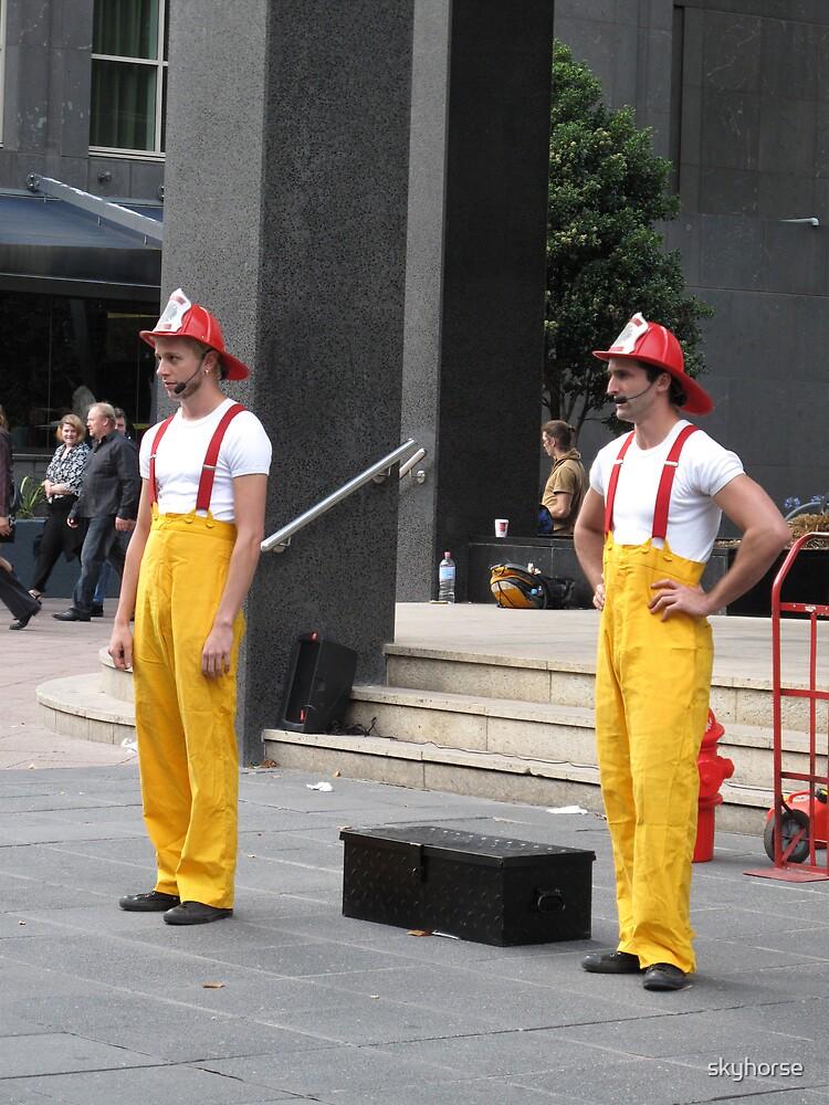 Circus Firemen 1 by skyhorse