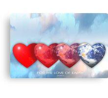 love of earth Metal Print
