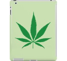 cannabis weed leaf iPad Case/Skin