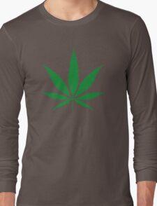 cannabis weed leaf T-Shirt