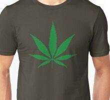 cannabis weed leaf Unisex T-Shirt