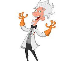 mad scientist by Evgenii Sidorov