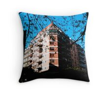 Hotel Trees Throw Pillow