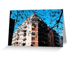 Hotel Trees Greeting Card