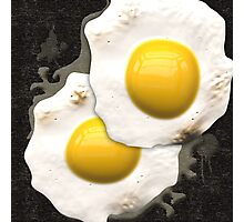 Fried Sunny Side Up Eggs Photographic Print