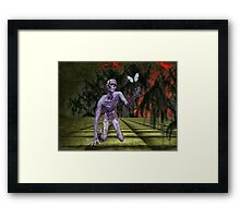 A Zombies Hope Framed Print