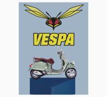 Vespa wasp design plus vespa light green.PNG by Roydon Johnson