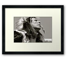 Feeling History Framed Print