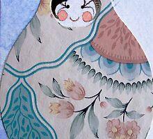 winter matryoshka. by loriotndorr