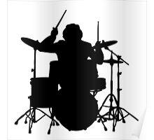 drum   drummer music batteur batterie Poster