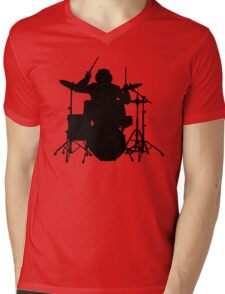 drum   drummer music batteur batterie Mens V-Neck T-Shirt