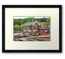 The Signal Box - Levisham Station Framed Print