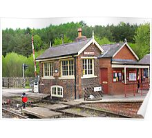 The Signal Box - Levisham Station Poster