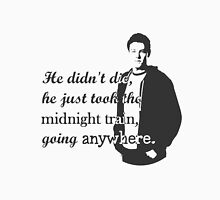 """Cory Monteith """"He didn't die"""" Unisex T-Shirt"""