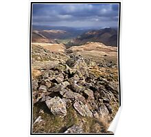Views down the Langdale Valley Poster