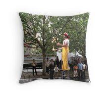 Circus Firemen 15 Throw Pillow