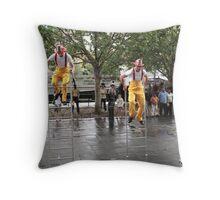 Circus Firemen 16 Throw Pillow