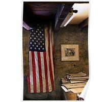 Baldwin's Flag Poster